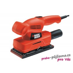 Vibrační bruska Black and Decker 135W