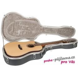 Pouzdro na kytaru - velmi odolné, imitace kovu